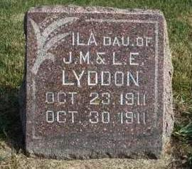 LYDDON, ILA MAGDALENA - Madison County, Iowa | ILA MAGDALENA LYDDON