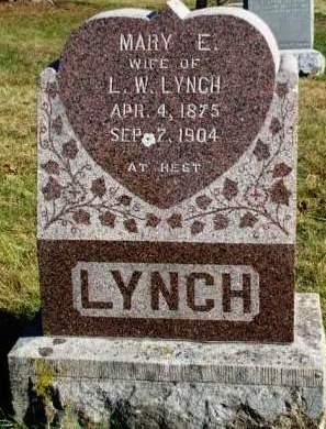 LYNCH, MARY E. - Madison County, Iowa   MARY E. LYNCH