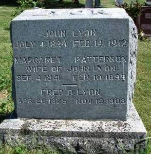LYON, MARGARET - Madison County, Iowa | MARGARET LYON