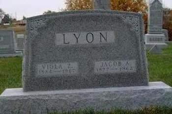 LYON, JACOB ALONZO - Madison County, Iowa | JACOB ALONZO LYON