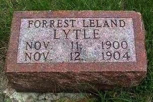 LYTLE, FORREST LELAND - Madison County, Iowa | FORREST LELAND LYTLE