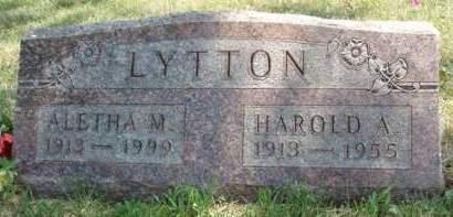 LYTTON, HAROLD A. - Madison County, Iowa | HAROLD A. LYTTON