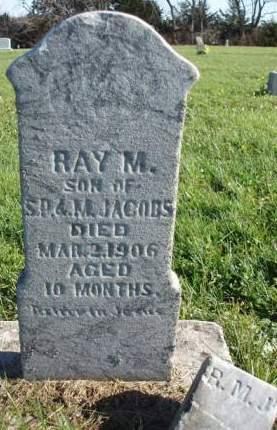 JACOBS, RAY M. - Madison County, Iowa | RAY M. JACOBS