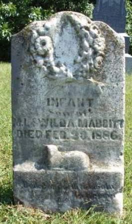 MABBITT, INFANT - Madison County, Iowa | INFANT MABBITT