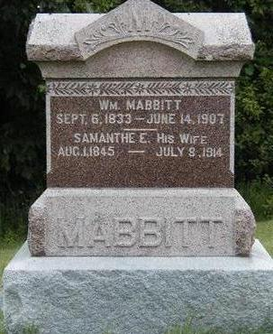 MABBITT, SAMANTHA E. - Madison County, Iowa | SAMANTHA E. MABBITT