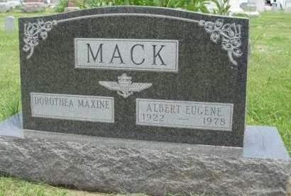 MACK, DOROTHEA MAXINE - Madison County, Iowa | DOROTHEA MAXINE MACK
