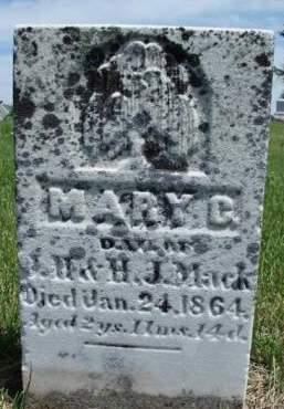 MACK, MARY CATHERINE - Madison County, Iowa   MARY CATHERINE MACK