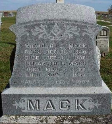 MACK, ELIZABETH ANN - Madison County, Iowa | ELIZABETH ANN MACK