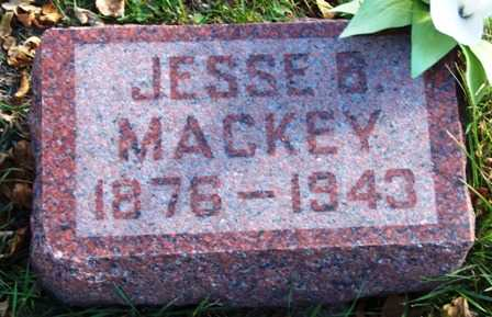 MACKEY, JESSE BENTON - Madison County, Iowa   JESSE BENTON MACKEY