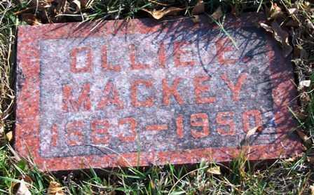 MACKEY, OLLIE E. - Madison County, Iowa   OLLIE E. MACKEY