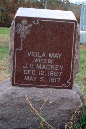 MACKEY, VIOLA MAY - Madison County, Iowa | VIOLA MAY MACKEY