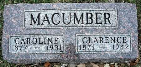 MACUMBER, CAROLINE HENRIETTA - Madison County, Iowa | CAROLINE HENRIETTA MACUMBER