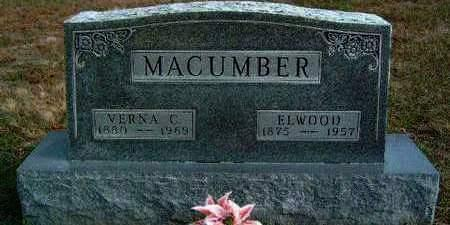 MACUMBER, ELWOOD - Madison County, Iowa | ELWOOD MACUMBER