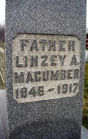 MACUMBER, LINZEY A. - Madison County, Iowa | LINZEY A. MACUMBER