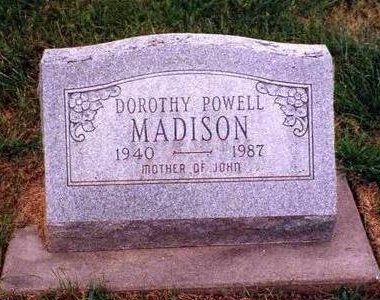 MADISON, DOROTHY LUAVIS - Madison County, Iowa | DOROTHY LUAVIS MADISON