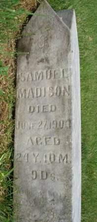 MADISON, SAMUEL - Madison County, Iowa   SAMUEL MADISON