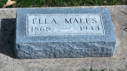 THORNTON MALES, ELEANOR (ELLA) - Madison County, Iowa | ELEANOR (ELLA) THORNTON MALES