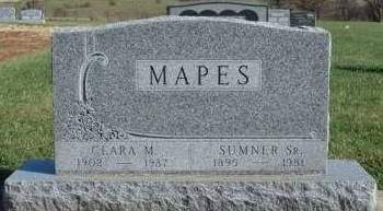 MAPES, CHARLES SUMNER, SR. - Madison County, Iowa | CHARLES SUMNER, SR. MAPES