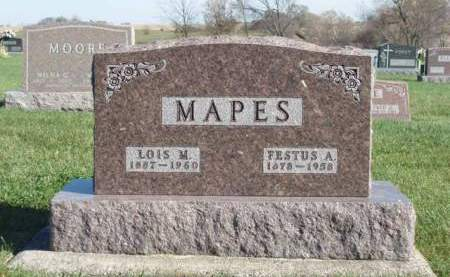 MAPES, LOIS MAY - Madison County, Iowa | LOIS MAY MAPES