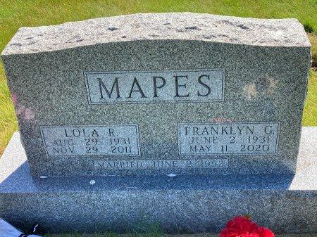 MAPES, FRANKLYN G. - Madison County, Iowa | FRANKLYN G. MAPES