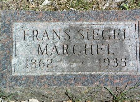 MARCHEL, FRANS SIEGEL - Madison County, Iowa | FRANS SIEGEL MARCHEL