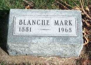 MARK, BLANCHE - Madison County, Iowa | BLANCHE MARK