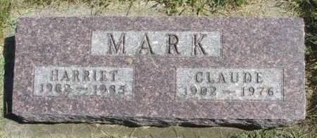 MARK, HARRIET - Madison County, Iowa | HARRIET MARK