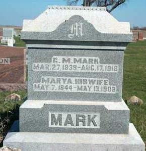 MARK, GEORGE MARION - Madison County, Iowa | GEORGE MARION MARK