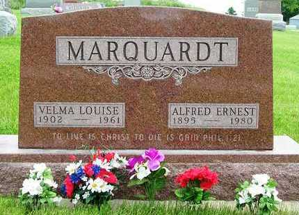 HOY MARQUARDT, VELMA LOUISE - Madison County, Iowa | VELMA LOUISE HOY MARQUARDT