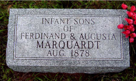 MARQUARDT, INFANT SONS - Madison County, Iowa | INFANT SONS MARQUARDT