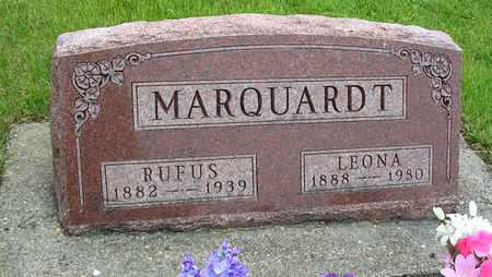MARQUARDT, RUFUS GEORGE - Madison County, Iowa | RUFUS GEORGE MARQUARDT