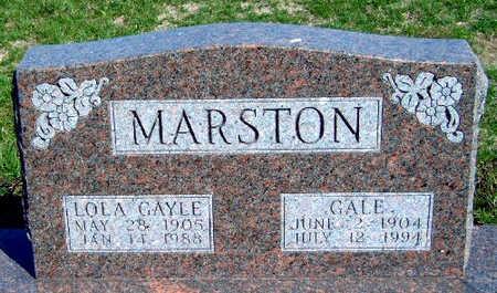 MARSTON, LOLA GAYLE - Madison County, Iowa | LOLA GAYLE MARSTON