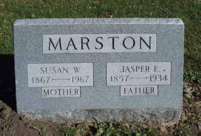 MARSTON, SUSAN W. - Madison County, Iowa | SUSAN W. MARSTON