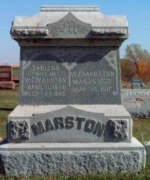 MARSTON, TABITHA - Madison County, Iowa | TABITHA MARSTON