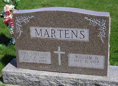MARTENS, WILLIAM  DEAN - Madison County, Iowa | WILLIAM  DEAN MARTENS