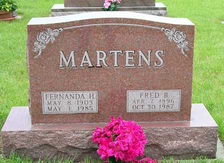 MARTENS, FREDERICK BENNETT - Madison County, Iowa | FREDERICK BENNETT MARTENS