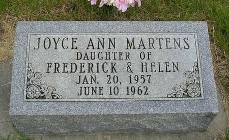 MARTENS, JOYCE ANN - Madison County, Iowa | JOYCE ANN MARTENS