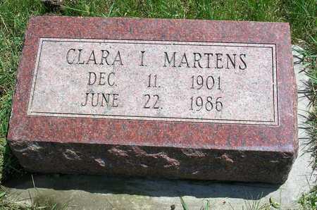 MARTENS, CLARA IDA - Madison County, Iowa | CLARA IDA MARTENS