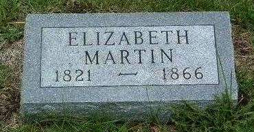 MARTIN, ELIZABETH A. - Madison County, Iowa   ELIZABETH A. MARTIN