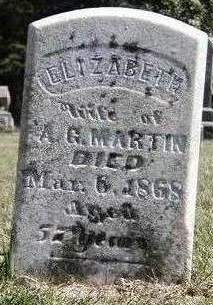 MARTIN, ELIZABETH - Madison County, Iowa | ELIZABETH MARTIN