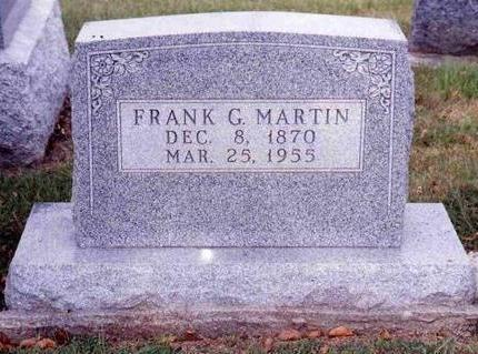 MARTIN, FRANK GILMORE - Madison County, Iowa | FRANK GILMORE MARTIN
