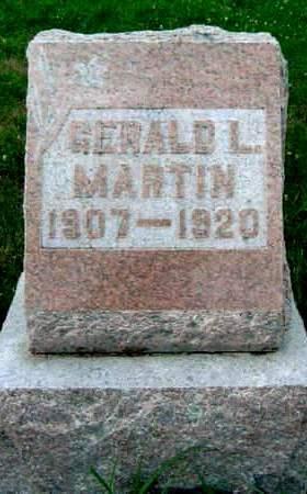 MARTIN, GERALD L. RAWLEIGH - Madison County, Iowa | GERALD L. RAWLEIGH MARTIN