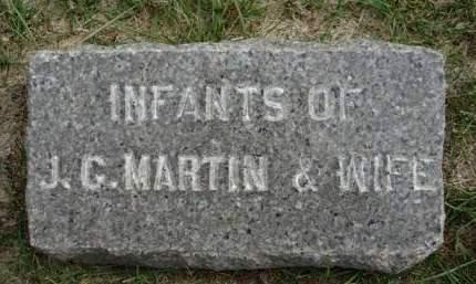 MARTIN, INFANT - Madison County, Iowa   INFANT MARTIN