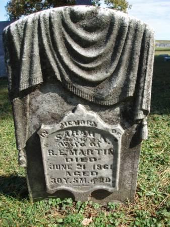 MARTIN, SARAH A. - Madison County, Iowa | SARAH A. MARTIN