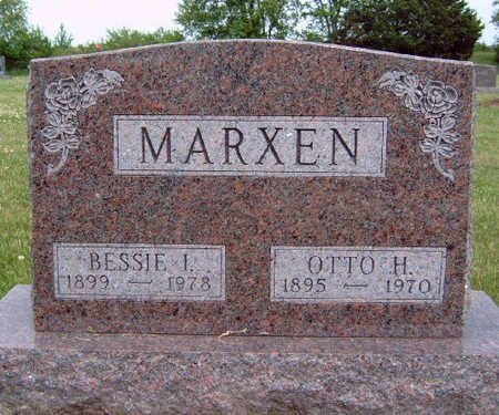 MARXEN, OTTO HERMANN - Madison County, Iowa | OTTO HERMANN MARXEN