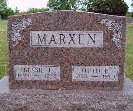 MARXEN, BESSIE IRENE - Madison County, Iowa | BESSIE IRENE MARXEN