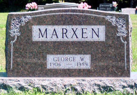 MARXEN, GEORGE WASHINGTON - Madison County, Iowa | GEORGE WASHINGTON MARXEN