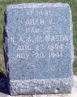 MASON, ADAH V. - Madison County, Iowa | ADAH V. MASON