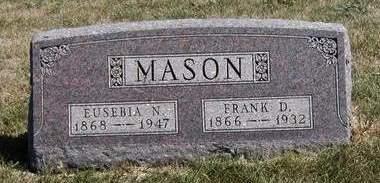 MASON, EUSEBIA NETTIE - Madison County, Iowa | EUSEBIA NETTIE MASON