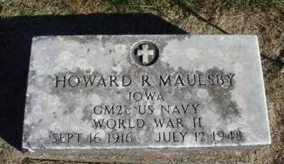 MAULSBY, HOWARD R. - Madison County, Iowa | HOWARD R. MAULSBY